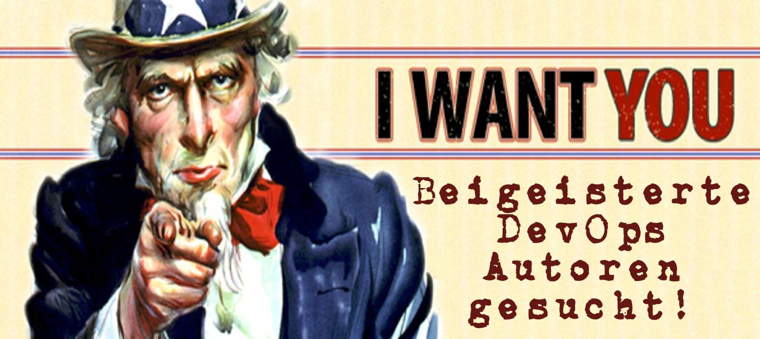 DevOps Autoren gesucht